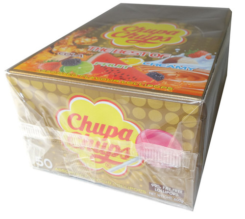 Chupa Chups - Best Of, by Perfetti Van Melle,  and more Confectionery at The Professors Online Lolly Shop. (Image Number :5919)