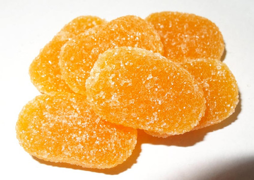 Soft Jubes - Orange, by Other/Uswatte,  and more Confectionery at The Professors Online Lolly Shop. (Image Number :5387)