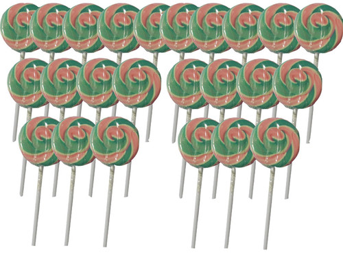 Swirl Lollipops - Light Blue and Pink Blueberry, by TLBC,  and more Confectionery at The Professors Online Lolly Shop. (Image Number :5608)