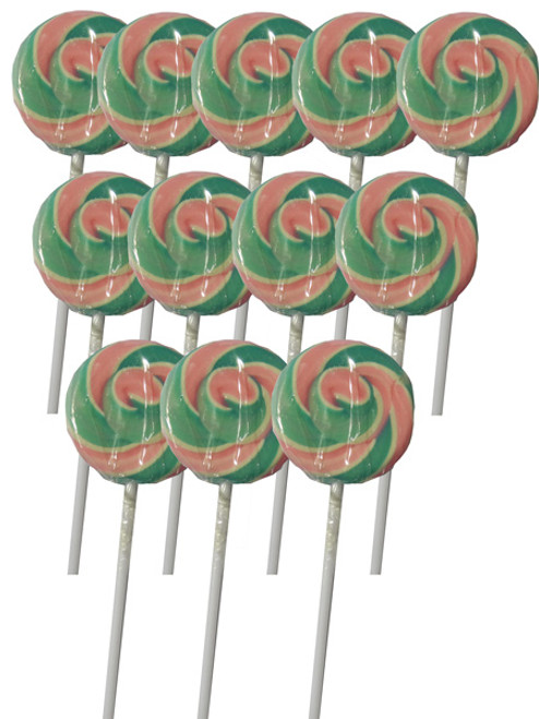Swirl Lollipops - Light Blue and Pink Blueberry, by Other/TLBC,  and more Confectionery at The Professors Online Lolly Shop. (Image Number :5563)