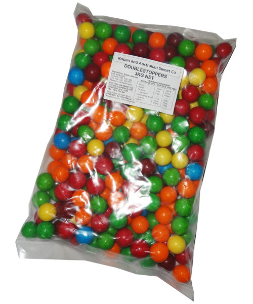 Gobstoppers - Doublegobstoppers - Rainbow, by Other/The Australian Sweet Company,  and more Confectionery at The Professors Online Lolly Shop. (Image Number :6165)