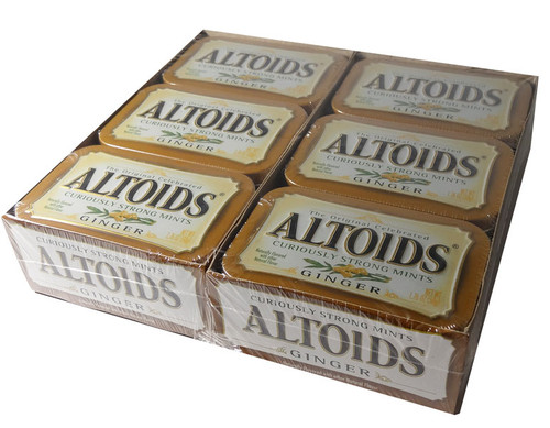 Altoids Ginger, by Altoids,  and more Confectionery at The Professors Online Lolly Shop. (Image Number :5850)
