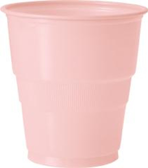 Plastic Cups - Pastel Pink, by Meteor,  and more Partyware at The Professors Online Lolly Shop. (Image Number :5622)
