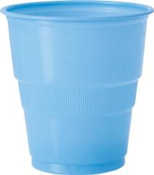 Plastic Cups - Baby Blue, by Meteor,  and more Partyware at The Professors Online Lolly Shop. (Image Number :5626)