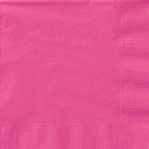 Luncheon Napkins - Hot Pink, by Meteor,  and more Partyware at The Professors Online Lolly Shop. (Image Number :5640)