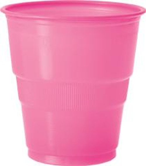 Plastic Cups - Hot Pink, by Meteor,  and more Partyware at The Professors Online Lolly Shop. (Image Number :5643)