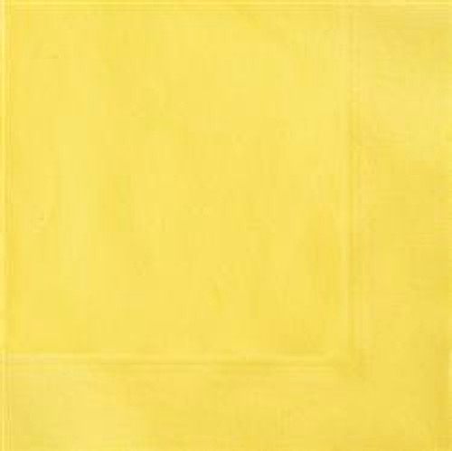 Beverage Napkins - Yellow, by Meteor,  and more Partyware at The Professors Online Lolly Shop. (Image Number :5665)