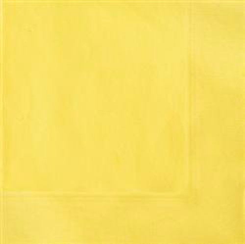 Luncheon Napkins - Yellow, by Meteor,  and more Partyware at The Professors Online Lolly Shop. (Image Number :5807)