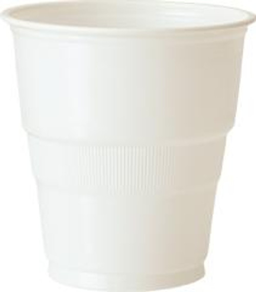 Plastic Cups - White, by Meteor,  and more Partyware at The Professors Online Lolly Shop. (Image Number :5743)