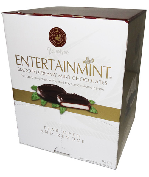 Ballantyne Entertainmints Box, by Fyna Foods,  and more Confectionery at The Professors Online Lolly Shop. (Image Number :6662)