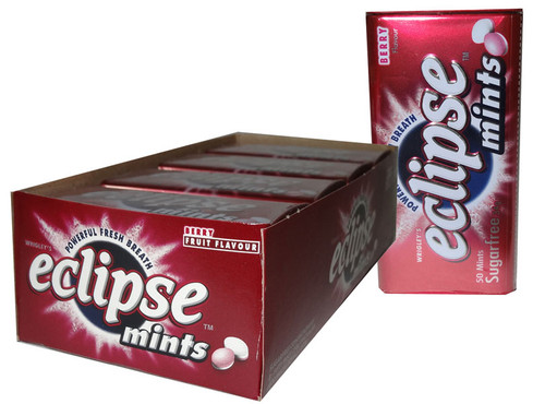 Eclipse Mints Berry Flavour, by Wrigley,  and more Confectionery at The Professors Online Lolly Shop. (Image Number :6496)