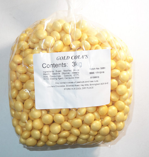 Gold Colas and more Confectionery at The Professors Online Lolly Shop. (Image Number :6596)