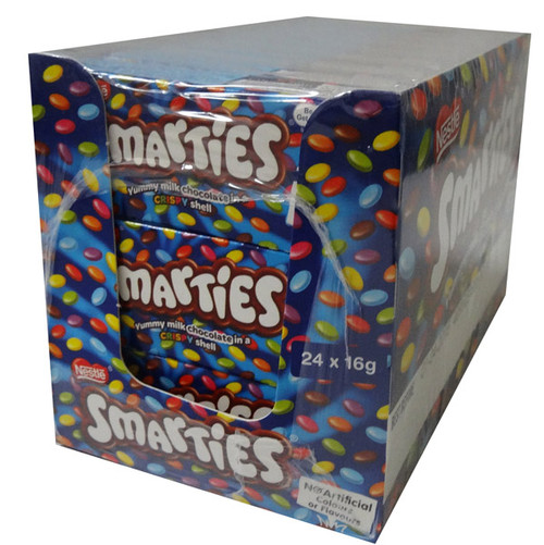 Smarties Small Box, by Nestle,  and more Confectionery at The Professors Online Lolly Shop. (Image Number :6915)