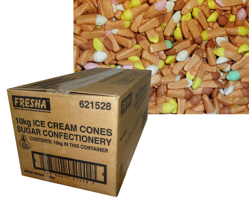 Cadbury Fresha Ice Cream Cones, by Cadbury Fresha,  and more Confectionery at The Professors Online Lolly Shop. (Image Number :6878)