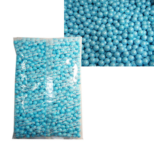 Sixlets - Shimmer Powder Blue, by Sixlets,  and more Confectionery at The Professors Online Lolly Shop. (Image Number :7839)