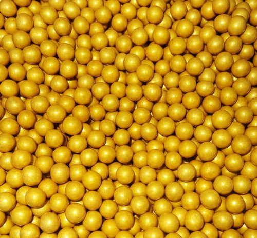 Sixlets - Shimmer Gold #80109, by Sixlets,  and more Confectionery at The Professors Online Lolly Shop. (Image Number :6846)