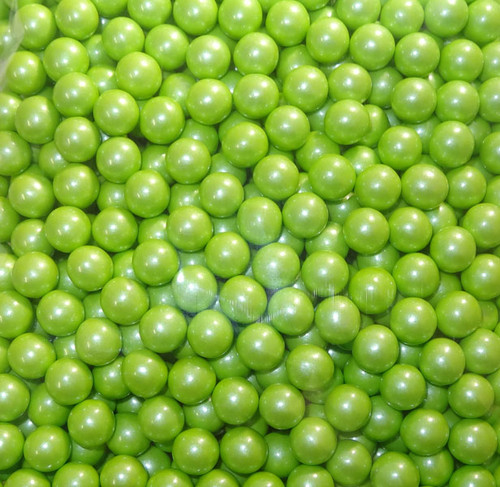 Sixlets - Shimmer Lime Green, by Sixlets,  and more Confectionery at The Professors Online Lolly Shop. (Image Number :6852)