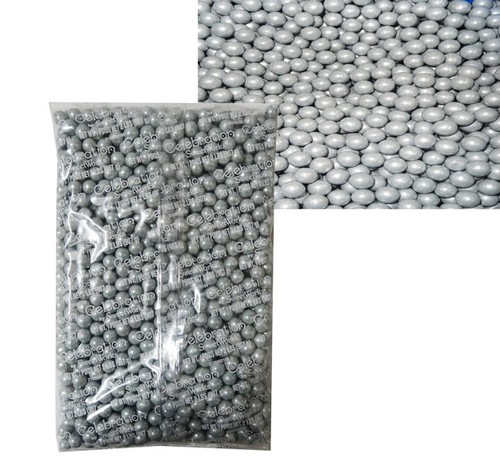 Sixlets - Shimmer Silver, by Sixlets,  and more Confectionery at The Professors Online Lolly Shop. (Image Number :7841)