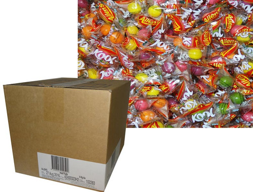Allens Kool Fruits - 5kg box of Wrapped individual mints, by Allens Confectionery,  and more Confectionery at The Professors Online Lolly Shop. (Image Number :6912)