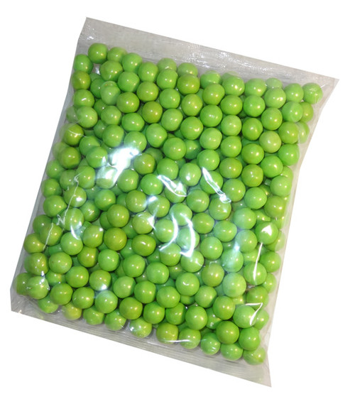 Shimmer Choc Balls - Lime Green, by Confectionery House,  and more Confectionery at The Professors Online Lolly Shop. (Image Number :7155)