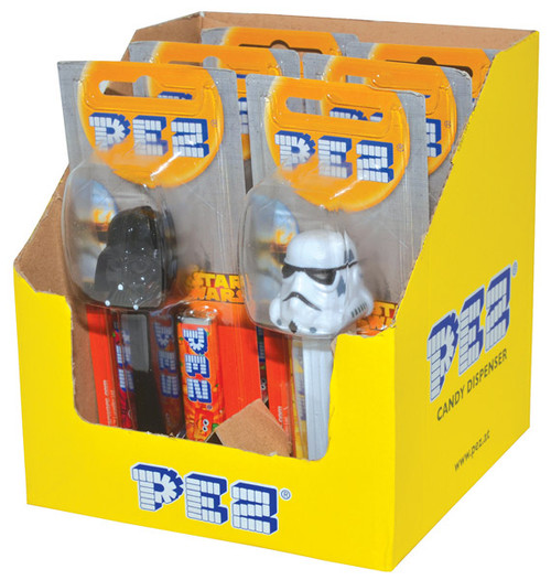 Pez Candy Dispensers - Star Wars, by Pez,  and more Confectionery at The Professors Online Lolly Shop. (Image Number :7365)
