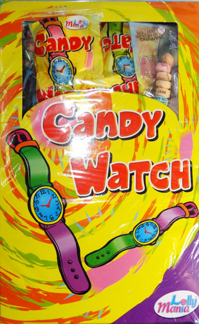 Candy Watches, by Lolly Mania,  and more Confectionery at The Professors Online Lolly Shop. (Image Number :7089)