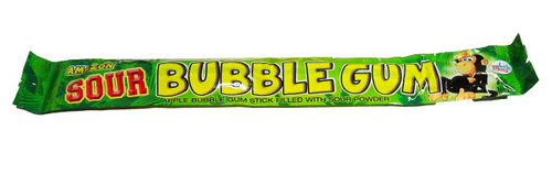 Amazon Sour Bubble Gum Sticks - Apple and more Confectionery at The Professors Online Lolly Shop. (Image Number :7015)