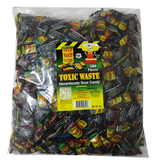 Toxic Waste Hazardously Sour Candy, by Candy Brokers,  and more Confectionery at The Professors Online Lolly Shop. (Image Number :7397)