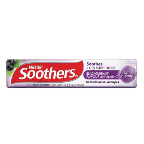 Nestle Soothers - Blackcurrant, by Allens Confectionery,  and more Confectionery at The Professors Online Lolly Shop. (Image Number :14668)