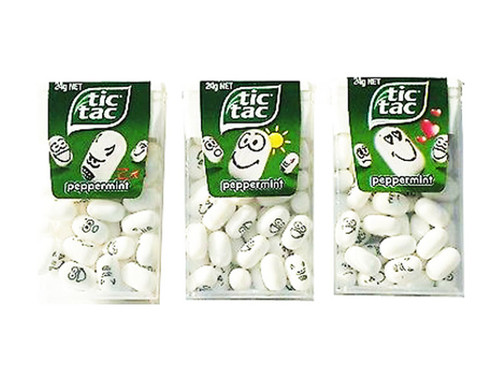 Tic Tac - Peppermint, by Ferrero,  and more Confectionery at The Professors Online Lolly Shop. (Image Number :9566)