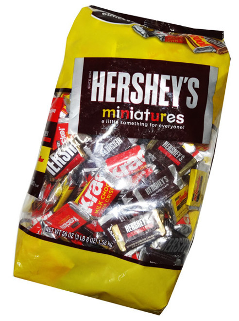 Hersheys Miniatures, by Hersheys,  and more Confectionery at The Professors Online Lolly Shop. (Image Number :7116)