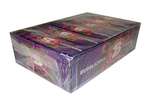 Bubblicious Grape Gum, by Cadbury,  and more Confectionery at The Professors Online Lolly Shop. (Image Number :9878)