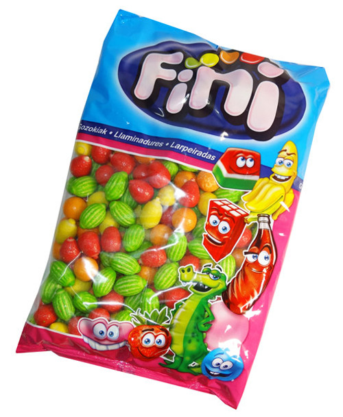 Fini Fruit Salad Bubblegum, by Fini,  and more Confectionery at The Professors Online Lolly Shop. (Image Number :7222)