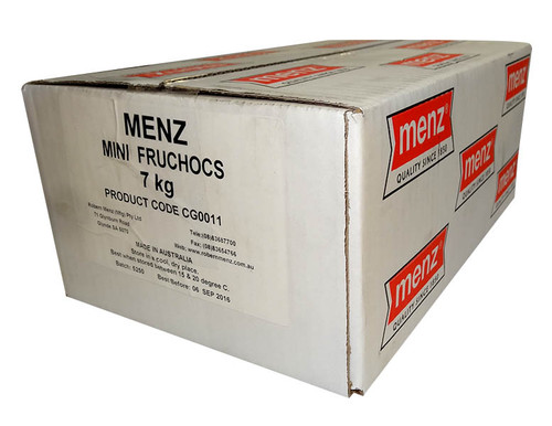 Robern Menz Mini FruChocs, by Robern Menz,  and more Confectionery at The Professors Online Lolly Shop. (Image Number :9949)