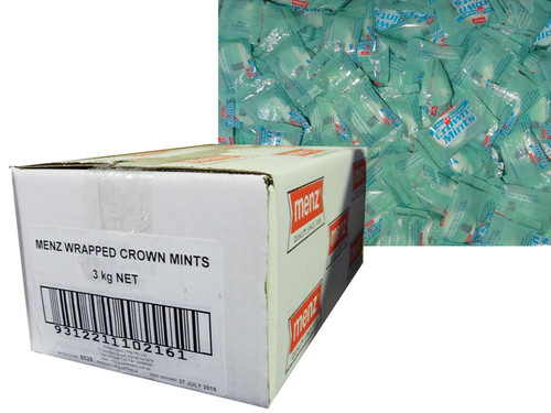 Robern Menz Crown Mints - Wrapped, by Robern Menz,  and more Confectionery at The Professors Online Lolly Shop. (Image Number :7231)