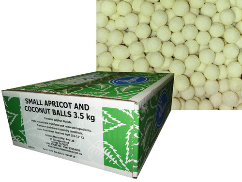 Robern Menz Apricot Balls - Small, by Robern Menz,  and more Snack Foods at The Professors Online Lolly Shop. (Image Number :7237)