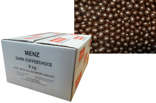 Robern Menz Dark Chocolate Coffee Beans, by Robern Menz,  and more Confectionery at The Professors Online Lolly Shop. (Image Number :9746)