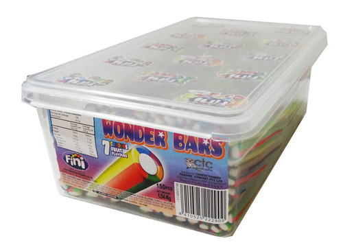 Wonder Bars, by Fini,  and more Confectionery at The Professors Online Lolly Shop. (Image Number :7683)
