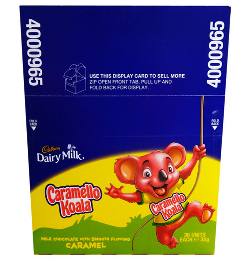 Cadbury Giant Caramello Koala, by Cadbury,  and more Confectionery at The Professors Online Lolly Shop. (Image Number :7627)