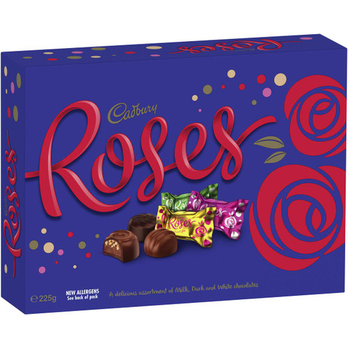 Cadbury Roses Chocolates - Single, by Cadbury,  and more Confectionery at The Professors Online Lolly Shop. (Image Number :11838)