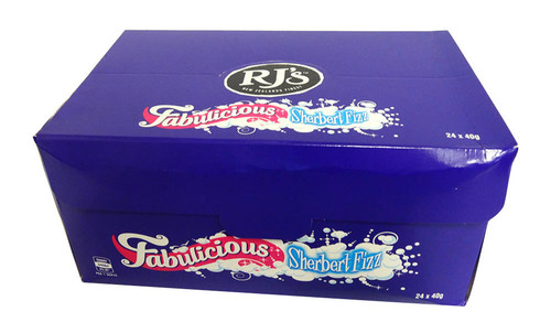 RJs Sherbet Fizz, by RJs,  and more Confectionery at The Professors Online Lolly Shop. (Image Number :15737)