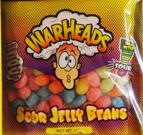 Warheads Jelly Beans, by Warheads,  and more Confectionery at The Professors Online Lolly Shop. (Image Number :8395)