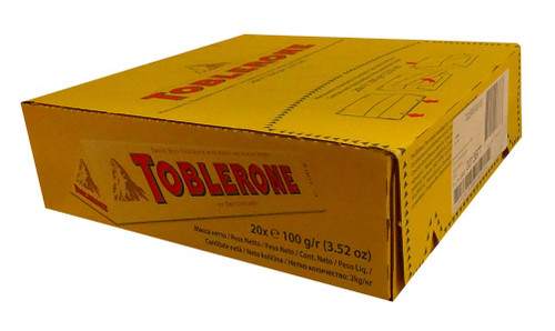 Toblerone Milk Chocolate Bar and more Confectionery at The Professors Online Lolly Shop. (Image Number :9953)