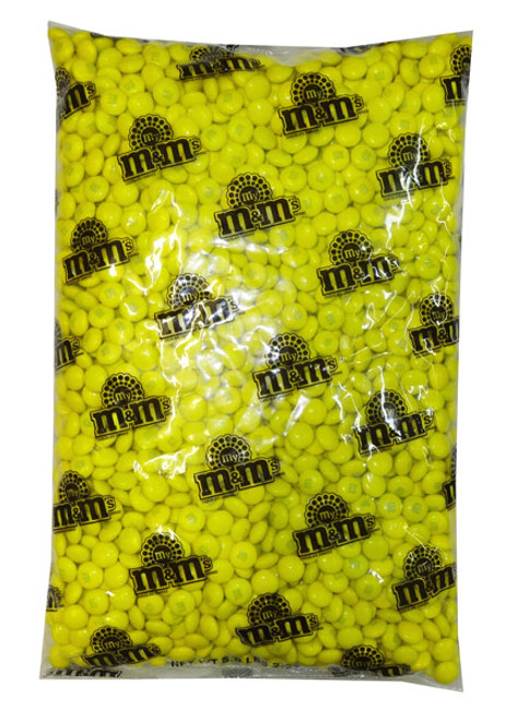 Single Colour M&M s - U.S Yellow and more Confectionery at The Professors Online Lolly Shop. (Image Number :8240)
