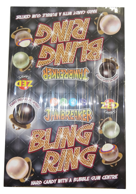Bling Ring Jawbreakers and more Confectionery at The Professors Online Lolly Shop. (Image Number :8543)