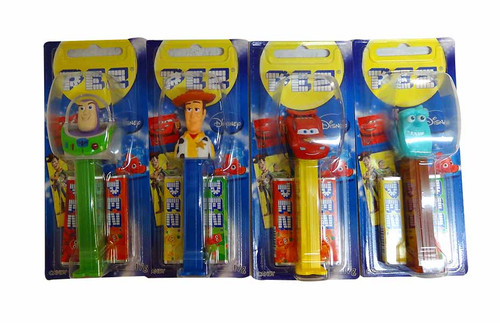 Pez Candy Dispensers - Best of Pixar, by Pez,  and more Confectionery at The Professors Online Lolly Shop. (Image Number :10337)