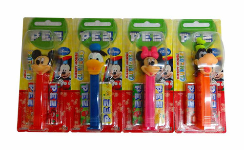Pez Candy Dispensers - Mickey Clubhouse, by Pez,  and more Confectionery at The Professors Online Lolly Shop. (Image Number :10335)