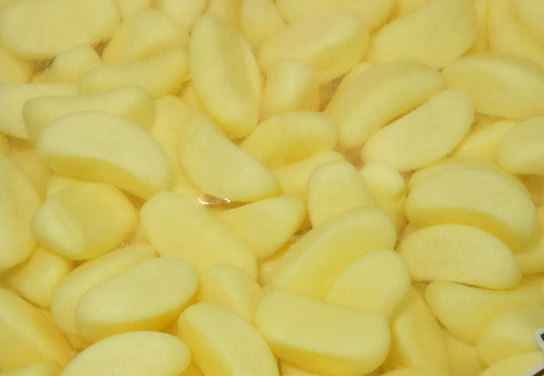 Trolli Mini Bananas, by Trolli,  and more Confectionery at The Professors Online Lolly Shop. (Image Number :9450)