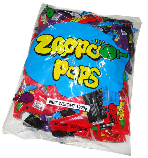 Zappo Pops, by Crown Confectionery,  and more Confectionery at The Professors Online Lolly Shop. (Image Number :14646)