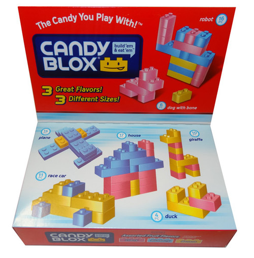 Candy Blox Box and more Confectionery at The Professors Online Lolly Shop. (Image Number :8506)